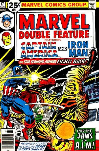 Marvel Double Feature #17 comic books - cover scans photos Marvel Double Feature #17 comic books - covers, picture gallery