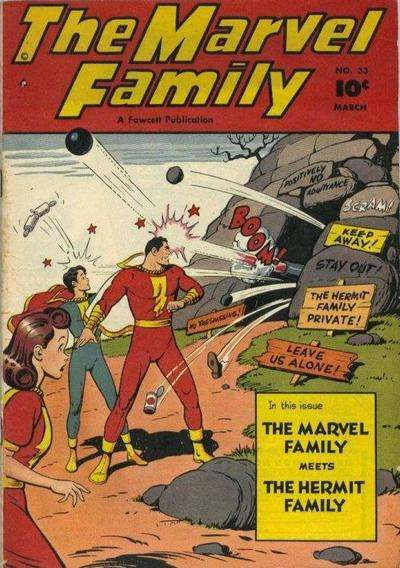 Marvel Family #33 comic books for sale