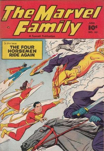 Marvel Family #48 comic books for sale