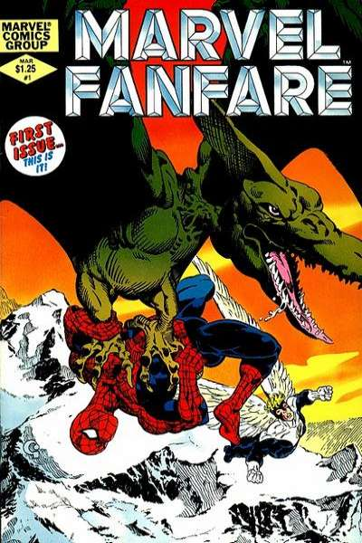 Marvel Fanfare Comic Books. Marvel Fanfare Comics.