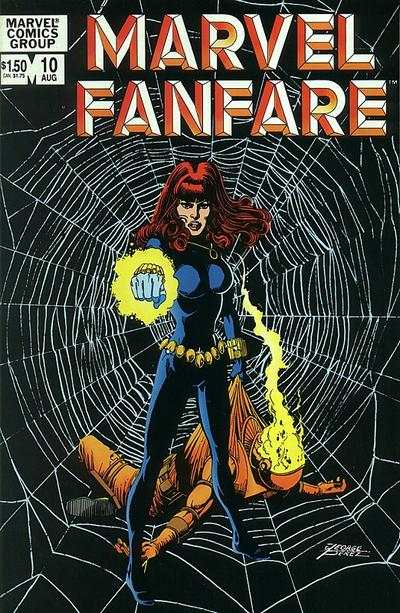 Marvel Fanfare #10 comic books for sale