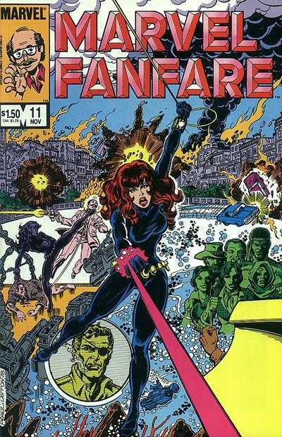 Marvel Fanfare #11 Comic Books - Covers, Scans, Photos  in Marvel Fanfare Comic Books - Covers, Scans, Gallery