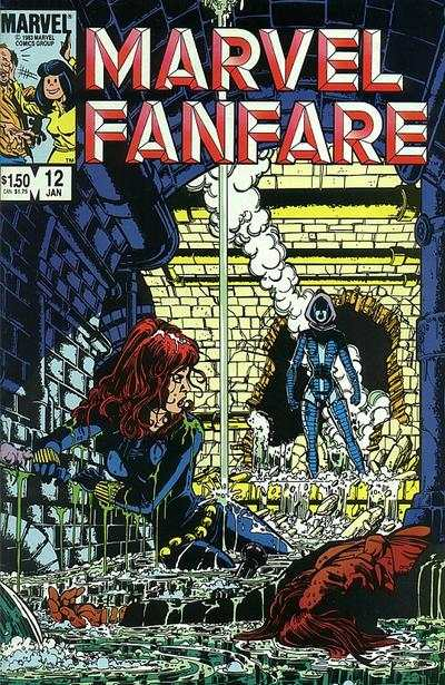 Marvel Fanfare #12 Comic Books - Covers, Scans, Photos  in Marvel Fanfare Comic Books - Covers, Scans, Gallery