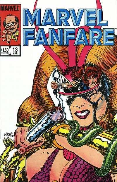 Marvel Fanfare #13 comic books for sale