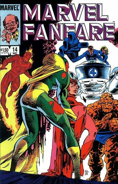 Marvel Fanfare #14 comic books for sale