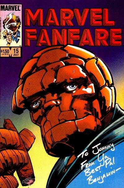 Marvel Fanfare #15 comic books for sale