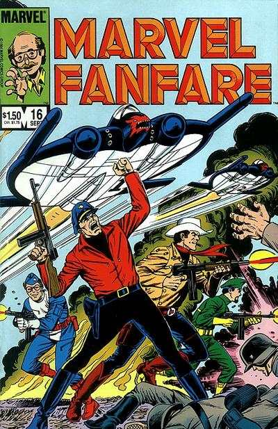 Marvel Fanfare #16 Comic Books - Covers, Scans, Photos  in Marvel Fanfare Comic Books - Covers, Scans, Gallery