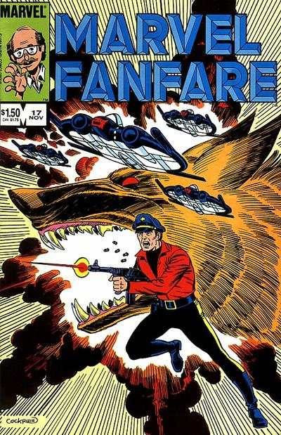 Marvel Fanfare #17 Comic Books - Covers, Scans, Photos  in Marvel Fanfare Comic Books - Covers, Scans, Gallery