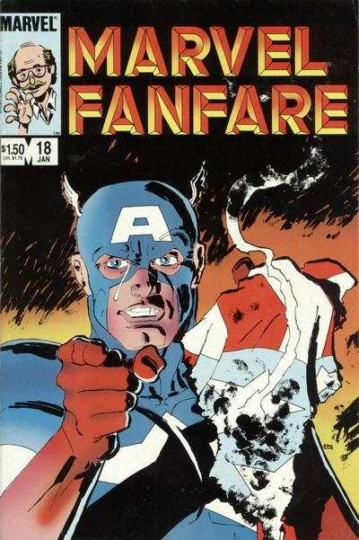Marvel Fanfare #18 comic books for sale