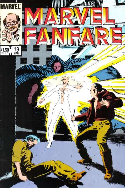 Marvel Fanfare #19 comic books for sale