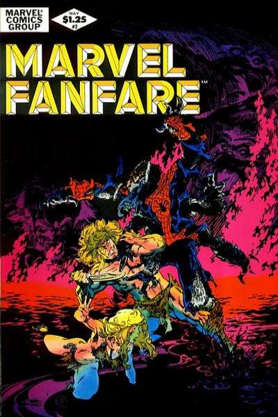 Marvel Fanfare #2 comic books for sale