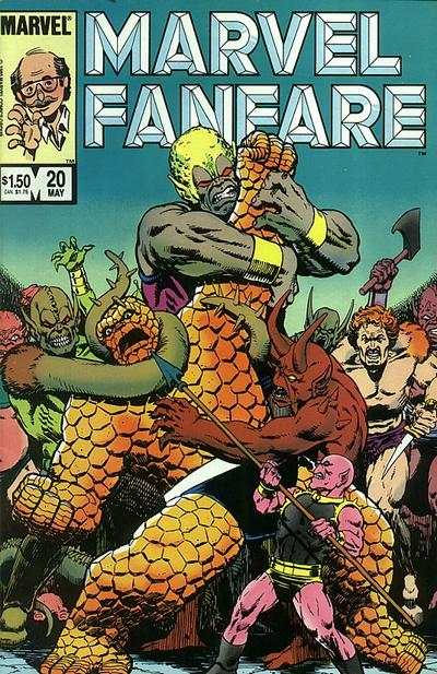 Marvel Fanfare #20 Comic Books - Covers, Scans, Photos  in Marvel Fanfare Comic Books - Covers, Scans, Gallery