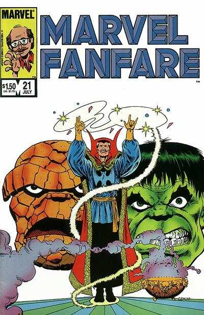 Marvel Fanfare #21 comic books for sale