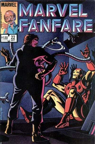 Marvel Fanfare #22 comic books for sale