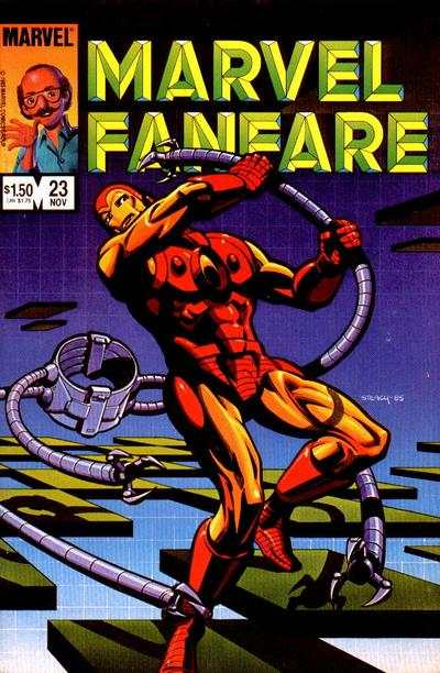 Marvel Fanfare #23 Comic Books - Covers, Scans, Photos  in Marvel Fanfare Comic Books - Covers, Scans, Gallery