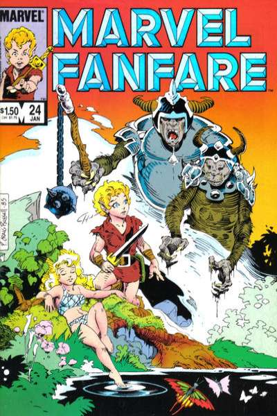 Marvel Fanfare #24 Comic Books - Covers, Scans, Photos  in Marvel Fanfare Comic Books - Covers, Scans, Gallery