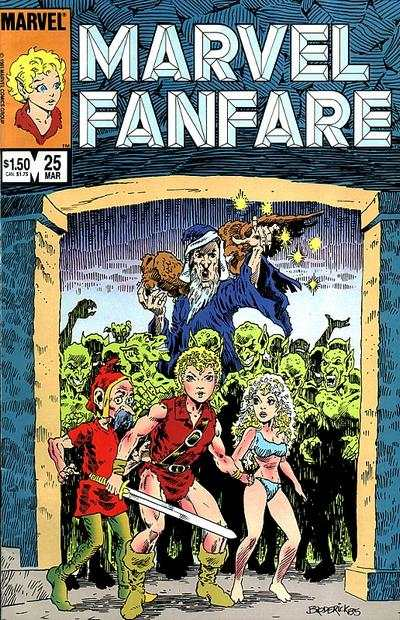 Marvel Fanfare #25 comic books for sale