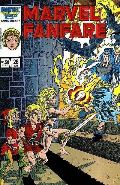 Marvel Fanfare #26 comic books for sale