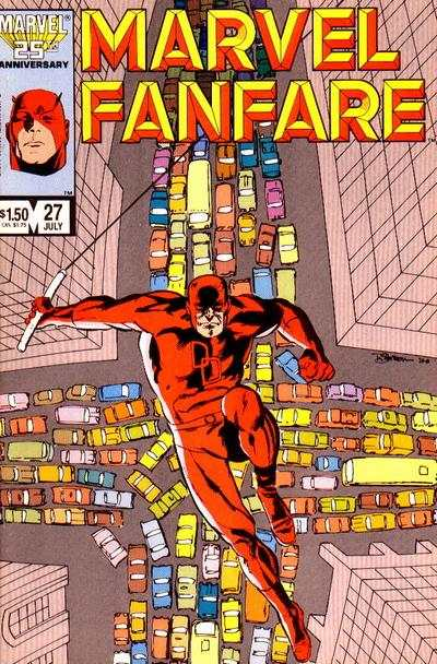 Marvel Fanfare #27 comic books for sale