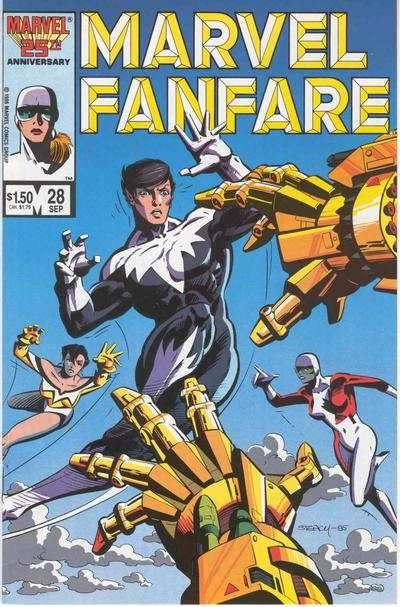 Marvel Fanfare #28 comic books for sale