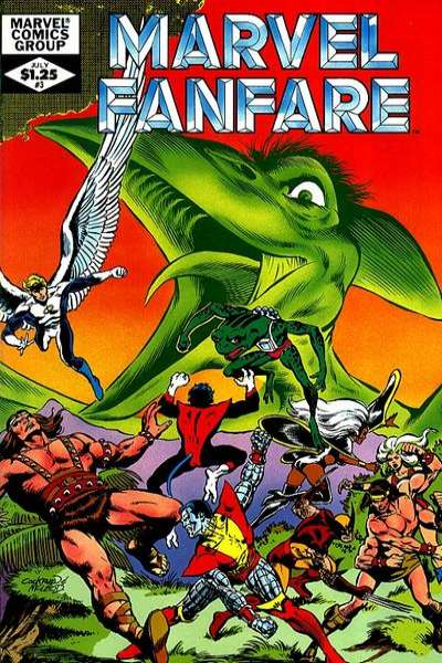 Marvel Fanfare #3 comic books for sale
