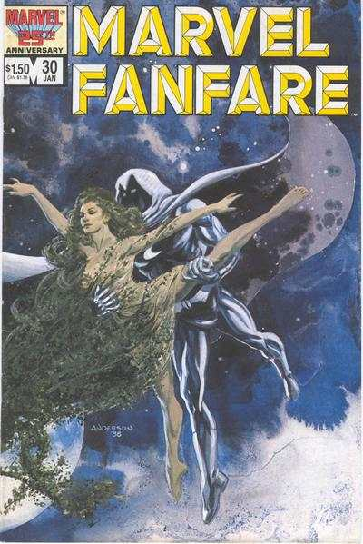 Marvel Fanfare #30 comic books for sale