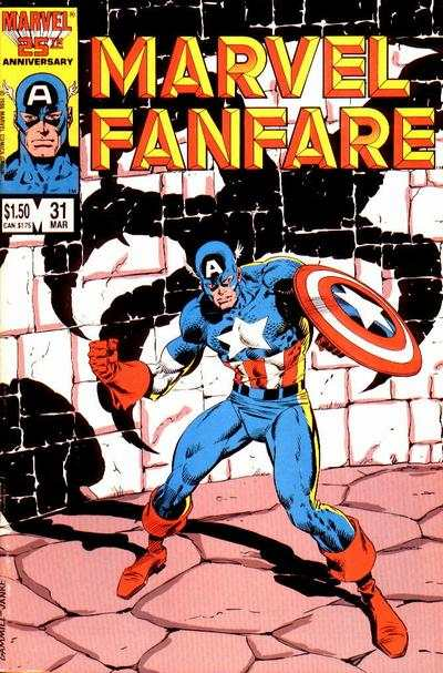 Marvel Fanfare #31 comic books for sale