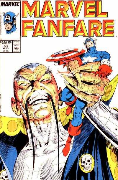 Marvel Fanfare #32 comic books for sale