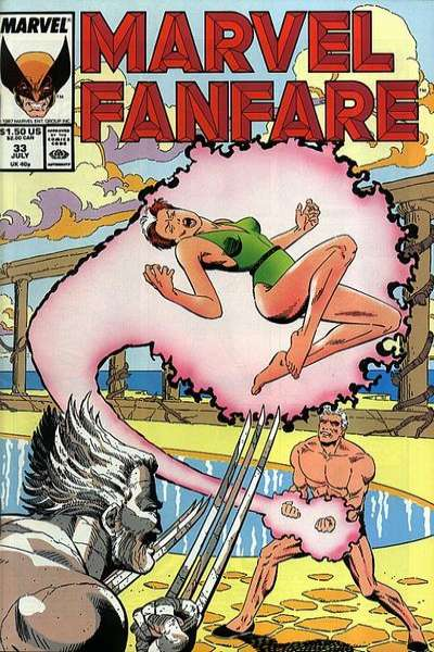 Marvel Fanfare #33 comic books for sale