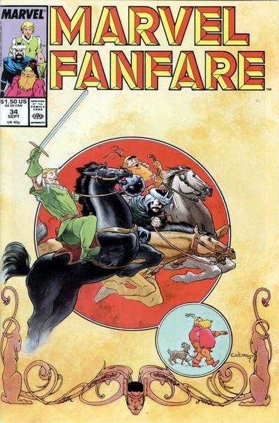 Marvel Fanfare #34 comic books for sale