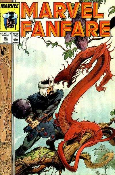 Marvel Fanfare #35 comic books for sale