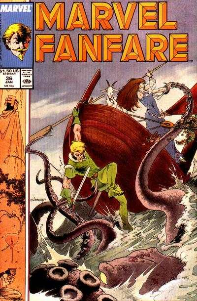 Marvel Fanfare #36 comic books for sale