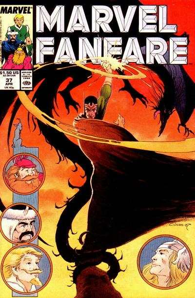 Marvel Fanfare #37 comic books for sale