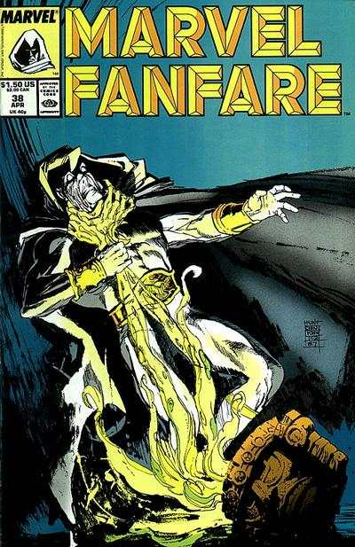 Marvel Fanfare #38 comic books for sale