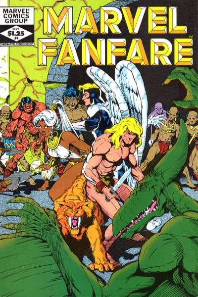 Marvel Fanfare #4 Comic Books - Covers, Scans, Photos  in Marvel Fanfare Comic Books - Covers, Scans, Gallery