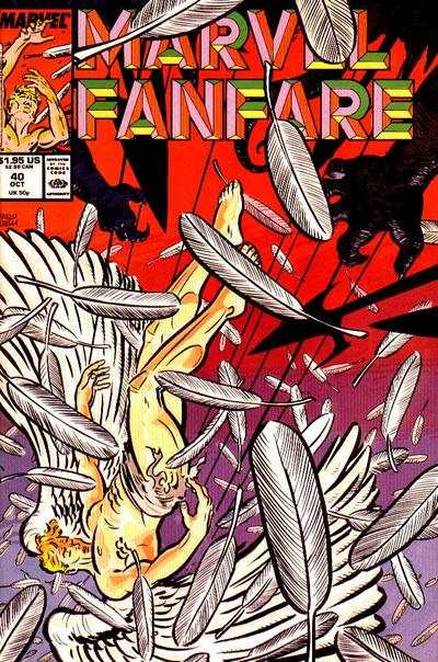 Marvel Fanfare #40 comic books for sale