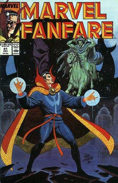 Marvel Fanfare #41 comic books for sale