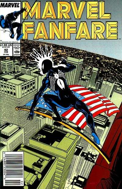 Marvel Fanfare #42 comic books for sale