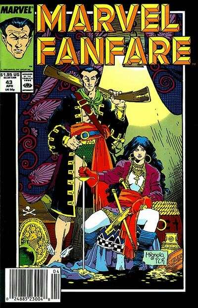 Marvel Fanfare #43 comic books for sale