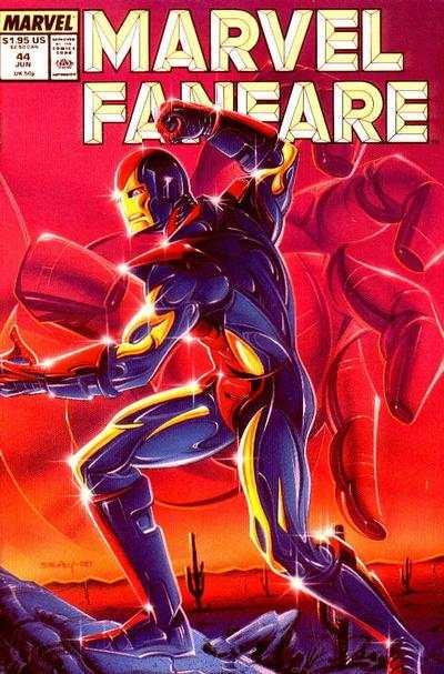Marvel Fanfare #44 comic books for sale