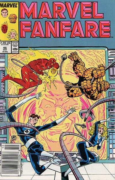 Marvel Fanfare #46 comic books for sale