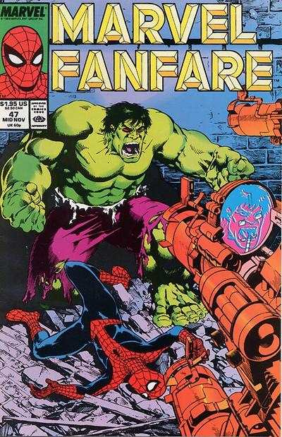 Marvel Fanfare #47 comic books for sale
