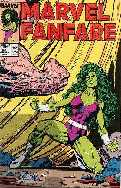 Marvel Fanfare #48 comic books for sale