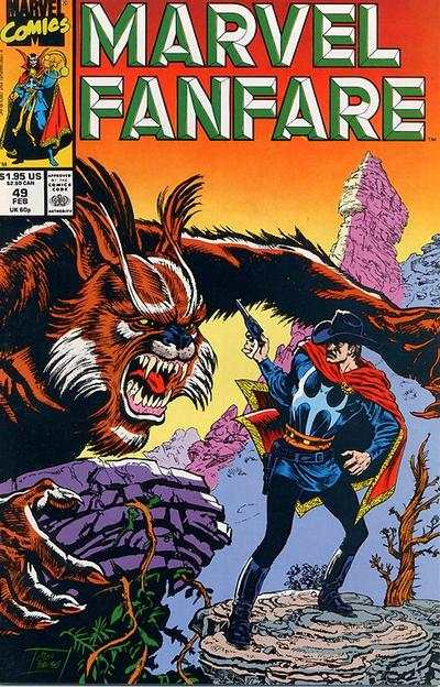Marvel Fanfare #49 comic books for sale