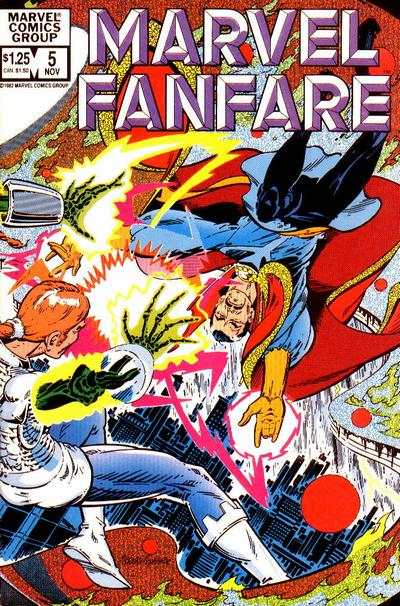 Marvel Fanfare #5 Comic Books - Covers, Scans, Photos  in Marvel Fanfare Comic Books - Covers, Scans, Gallery