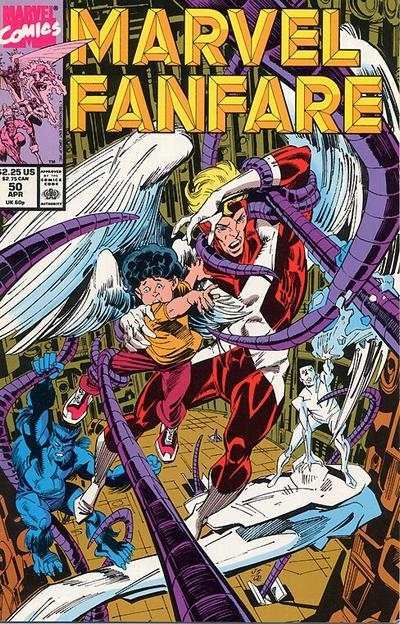 Marvel Fanfare #50 comic books for sale