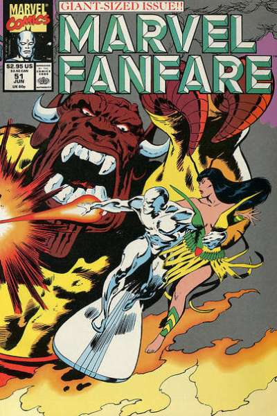 Marvel Fanfare #51 comic books for sale