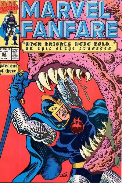 Marvel Fanfare #52 comic books for sale