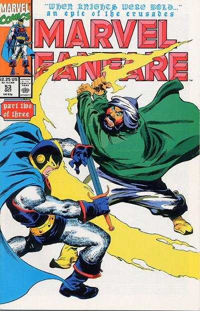 Marvel Fanfare #53 comic books for sale