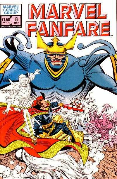 Marvel Fanfare #8 comic books for sale